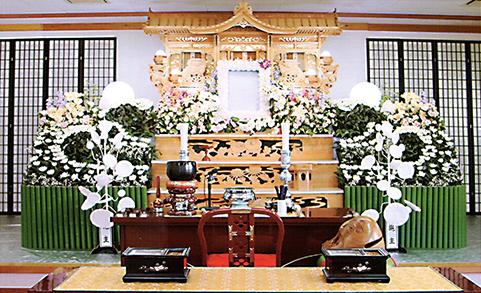 セレモニーホール鶴寿 祭壇
