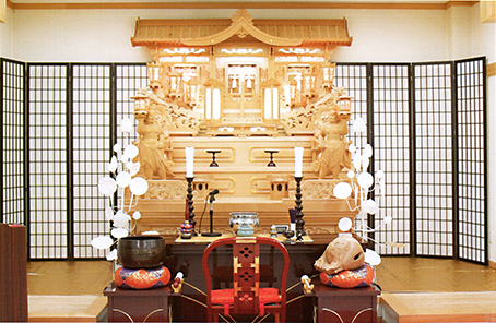 セレモニーホール聖寿 祭壇