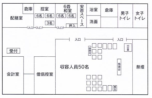 セレモニーホール聖寿 全体図